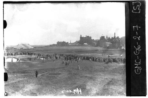 Henry Gullen on the Old Course, the Open Championship, St Andrews 1933