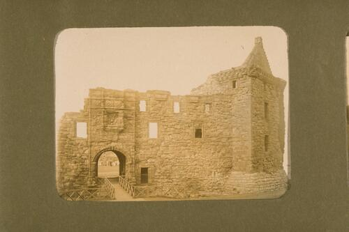 Entrance to St Andrews Castle.