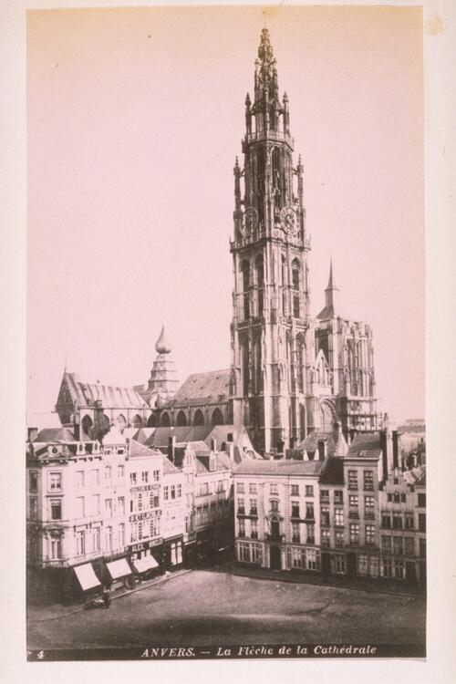 Anvers [Antwerp] Cathedral.