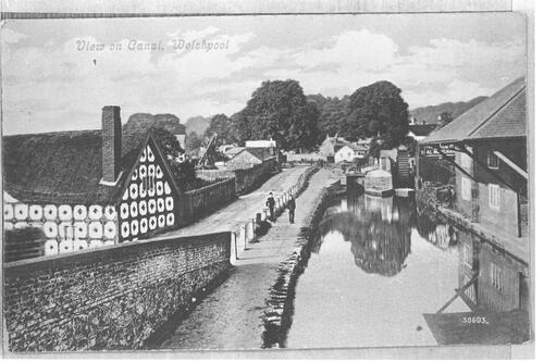 View on Canal, Welshpool.