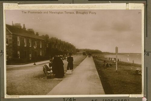 The Promenade and Newington Terrace, Broughty Ferry.