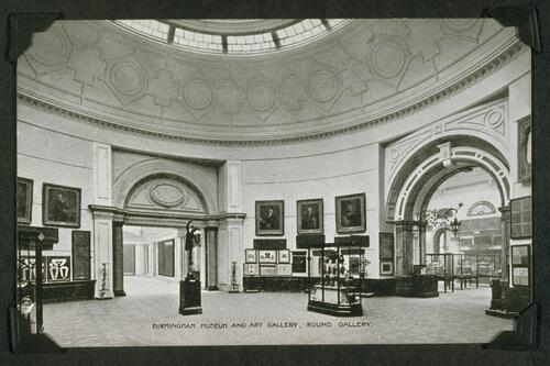 Round Gallery, Birmingham Museum and Art Gallery.