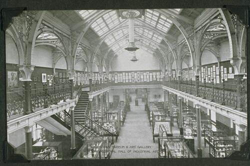 Central Hall of Industrial Art, Birmingham Museum and Art Gallery.