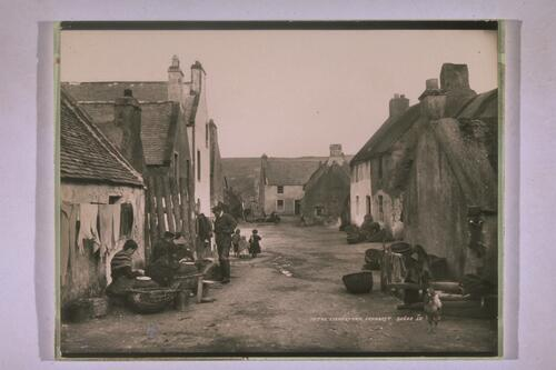 In the Fishertown, Cromarty.