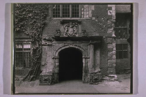 Doorway, Tamworth castle.