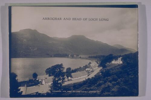 Arrochar and Head of Loch Long.