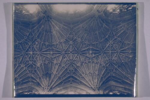 Roof of Nave, Sherborne Abbey.