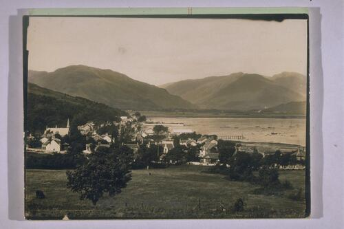 Holy Loch from above Ardenadam.