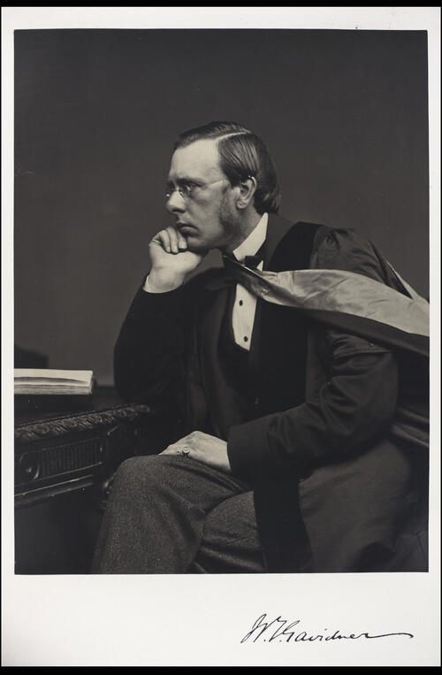 William T Gairdner, MD, Professor of Practice of Medicine, [University of Glasgow] Glasgow.