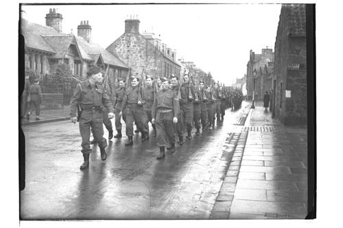 Home Guard Parade, St Andrews.