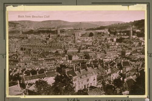 Bath from Beechen Cliff.