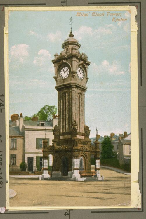 Miles' Clock Tower, Exeter.