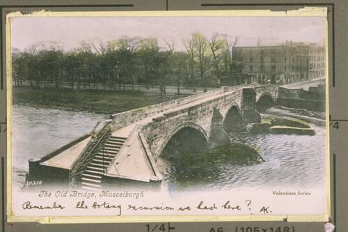The Old Bridge, Musselburgh.