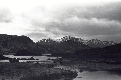 [Mountains to south of the head of] Glen Coe