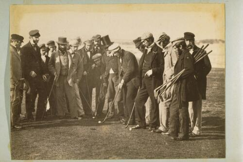 [Group of golfers].