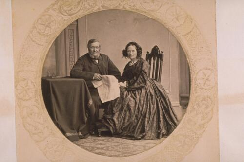 [Unidentified couple].