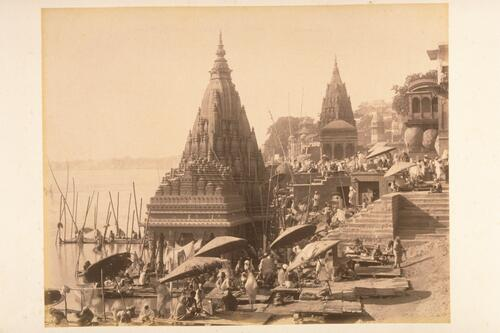 [Varanasi] Benares - Temples of the different Hindu Gods.