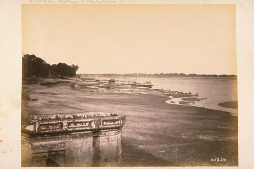 The same showing the River Ganges [Cawnpore].