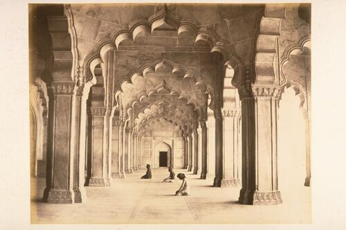 Moti Masjid (Pearl Mosque), Red Fort, Agra.