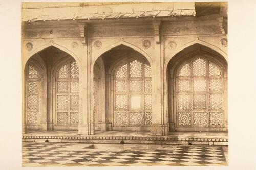 Jali (screens), Agra.