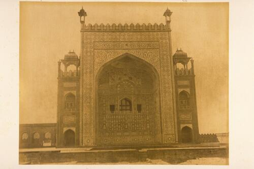 East Gateway of the Tomb of Akbar the Great, Sikandara, Arga.