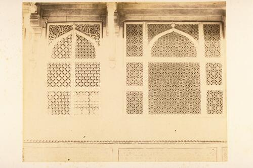Jalis (screens) of the Tomb of Salim Chishti, Fatehpur Sikri, Agra.
