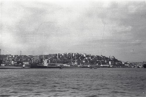 Sultanahmet, Istanbul from the Bosphorus.