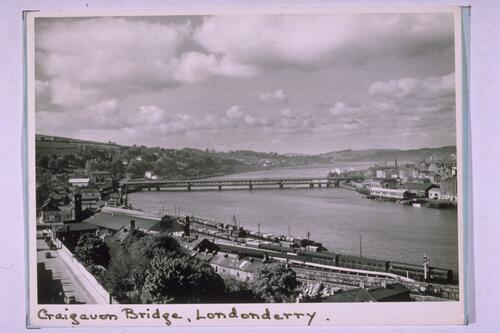 Craigavon Bridge, Londonderry.