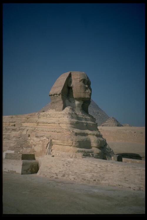 The Sphinx, Giza.