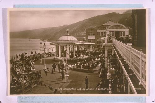 Spa Bandstand, Scarborough.