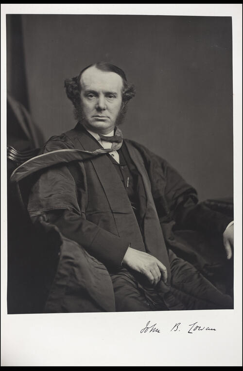 John B Cowan, MD, Professor of Institutes of Materia Medica, [University of Glasgow] Glasgow.