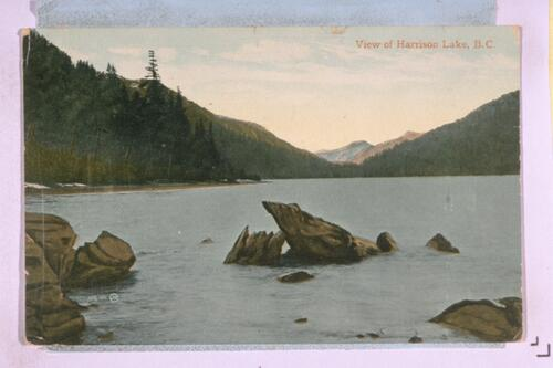 View of Harrison Lake, B.C.