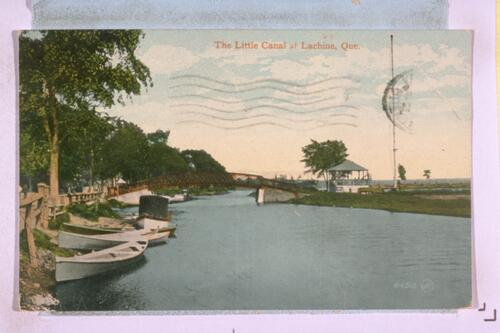 The Little Canal at Lachine.