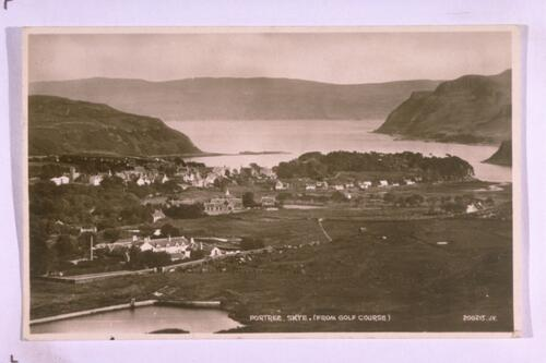 Portree (from Golf Course).