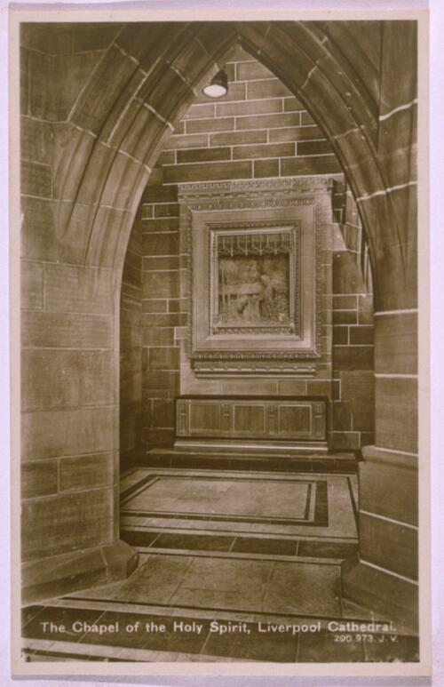 Chapel, Liverpool Cathedral.