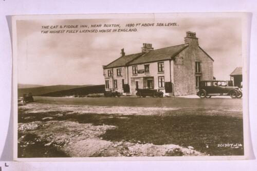 Cat & Fiddle Inn, near Buxton.