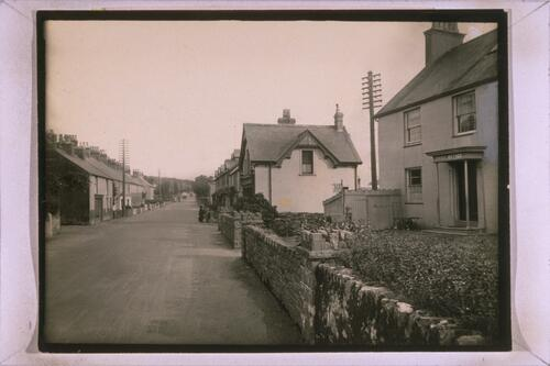 Holyhead Road and Post Office, Llanfair, Anglesey.