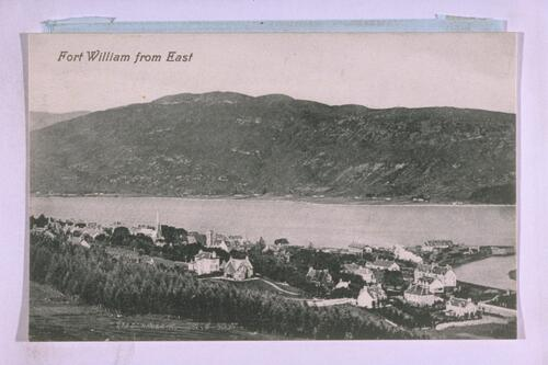 Fort William from East.