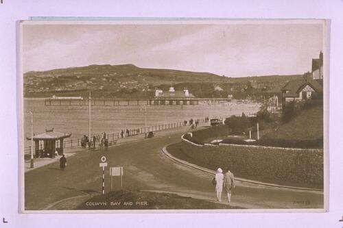 Colwyn Bay and Pier.