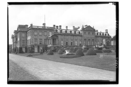 East Front, Welbeck Abbey.