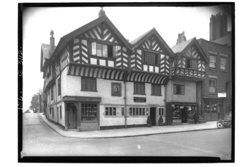 Old King's Head, Chester.