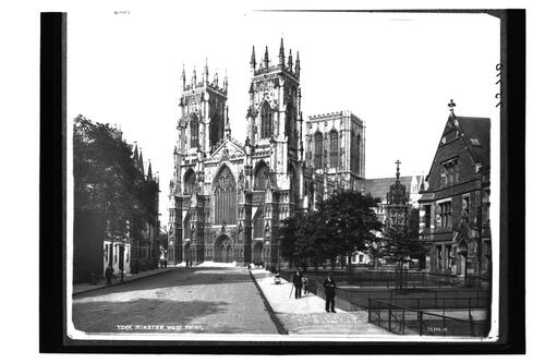 York Minster, West Front.