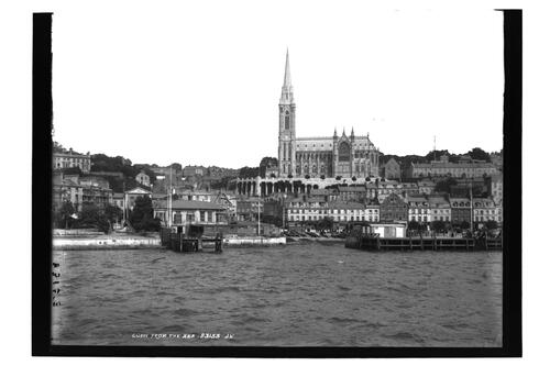 Cobh from the Sea.