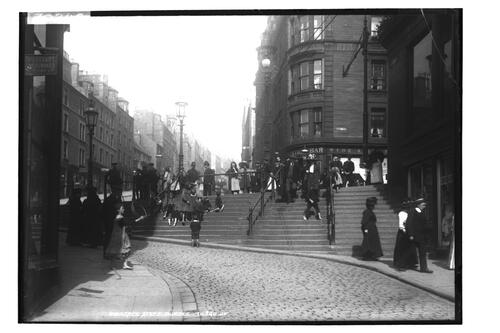 Wellgate Steps, Dundee.