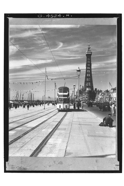 New Streamline Tram, Blackpool.