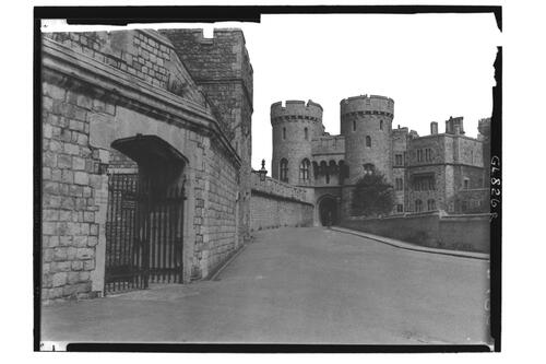 Gateway & Tower, Windsor Castle.