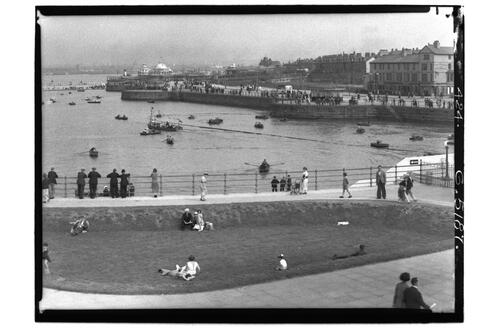 Lake & Promenade, New Brighton.