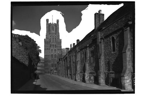Grammar School & Cathedral, Ely.