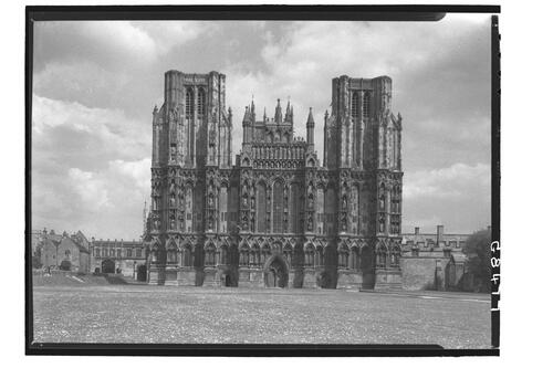West Front, Wells Cathedral.