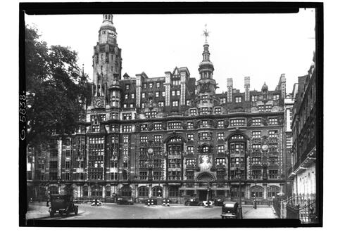 The Imperial Hotel, London.
